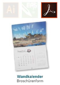 Produktinfo Broschüren-Wandkalender