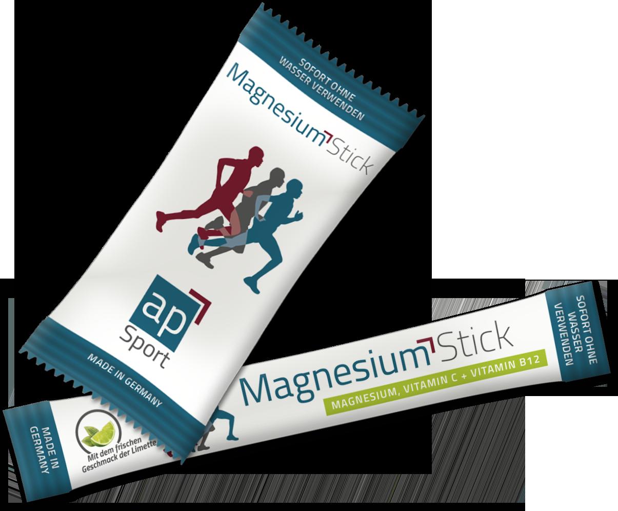apSport Magnesiumsticks in 2 Größen