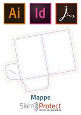 Standbogen Mappe für SkimProtect