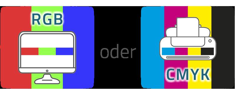 RGB oder CMYK