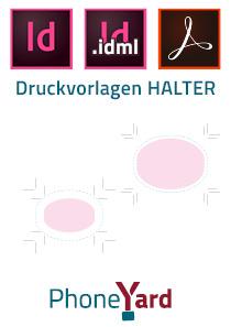 PhoneYard HALTER Druckvorlagen