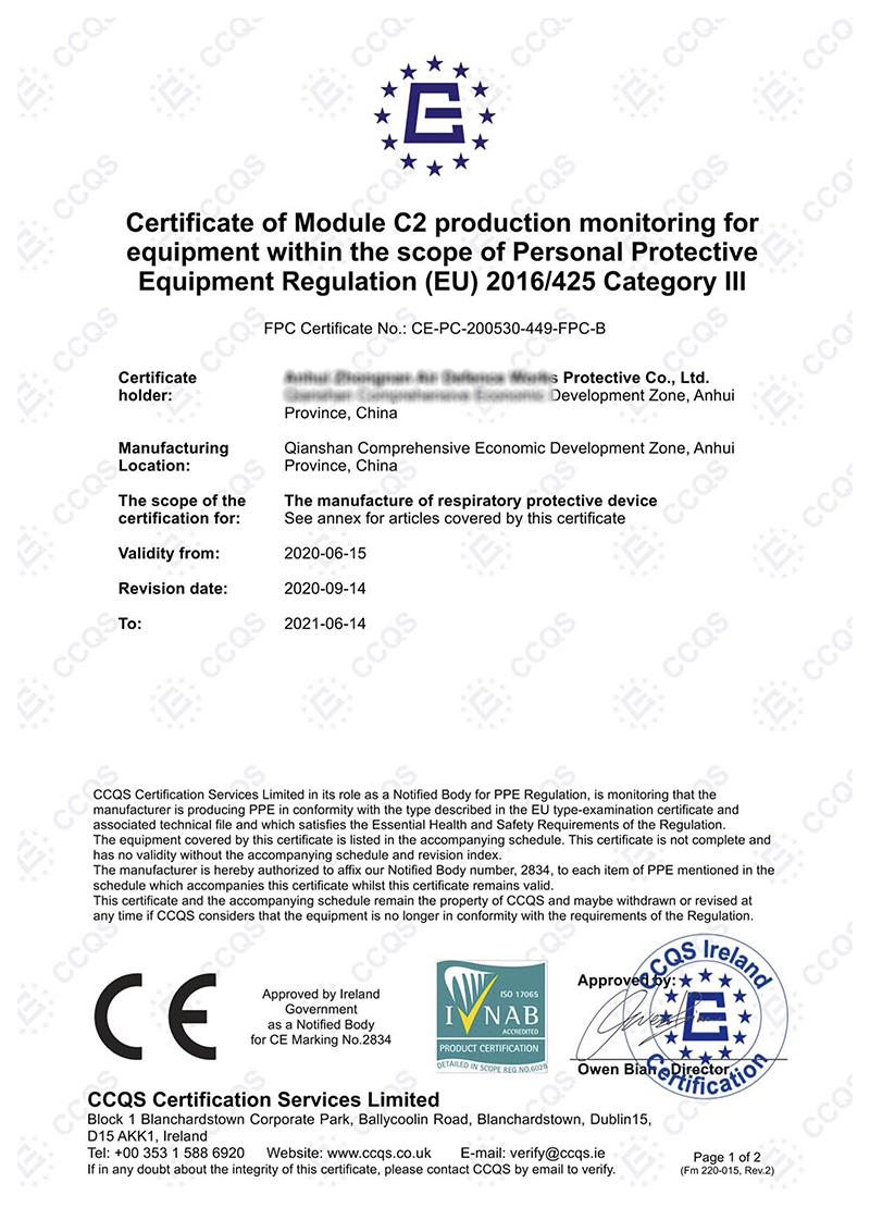 9008_FFP2 CE Module C2