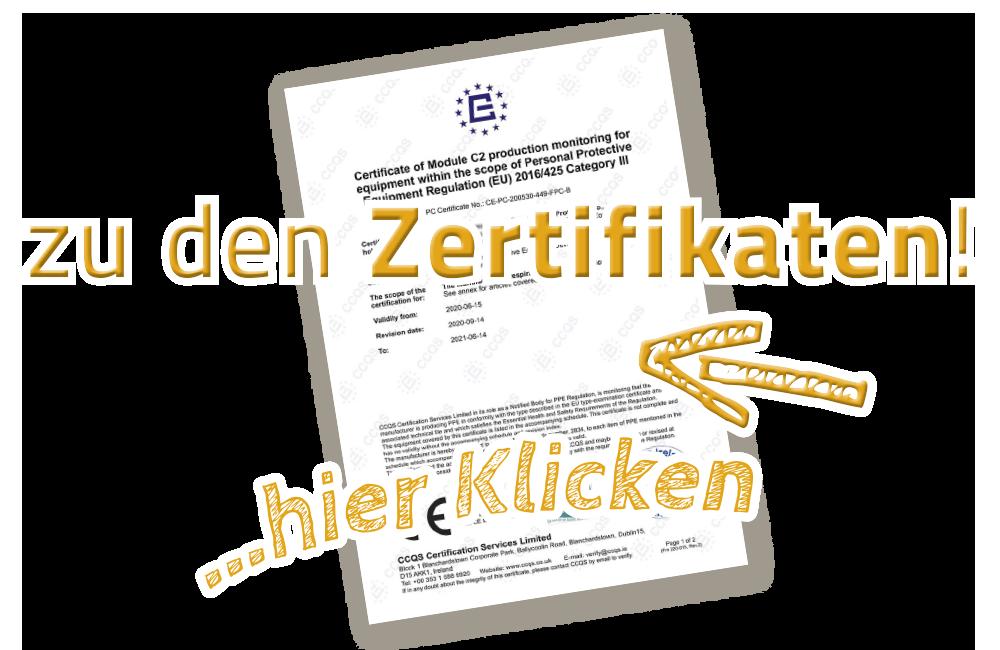 Zertifikate und Anleitungen