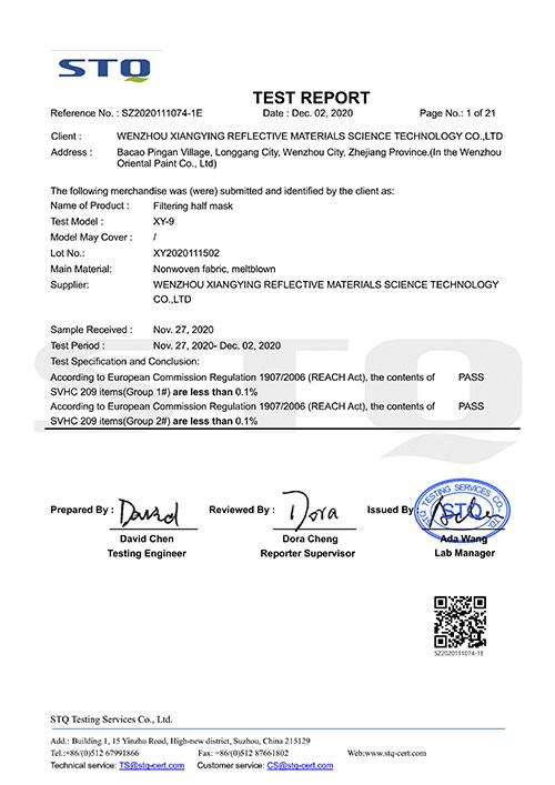 9018_FFP2 Testreport artPRESENT